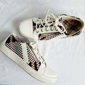 BORN shoes new condition! Checkered design sneaker